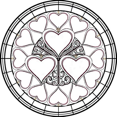 stained glass coloring books for adults free printable stained glass coloring pages for adults