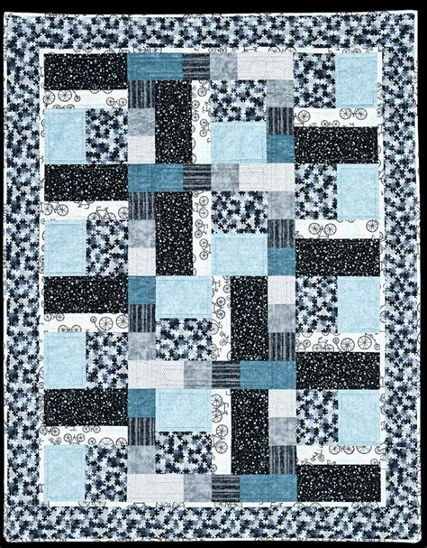 Quilt Pattern Squares And Rectangles | rectangles and squares a beginner patchwork quilt