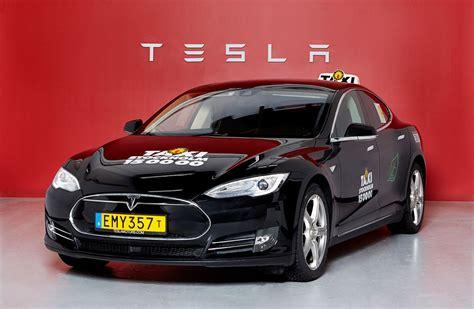 Tesla Taxi Taxi Stockholm K 246 R Tesla Model S Teknikens V 228 Rld