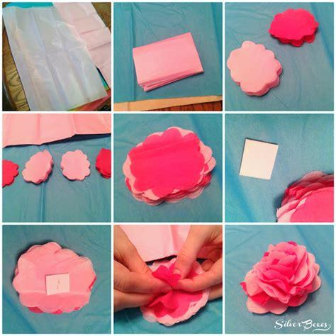 Things To Make With A Sheet Of Paper - fiori di carta velina idee creative fai da te blogmamma it