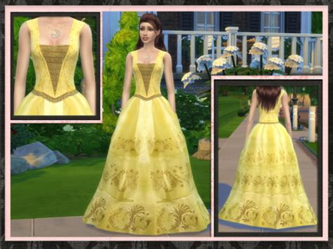 ball gown sims 4 belle 2017 ball gown at 5cats 187 sims 4 updates