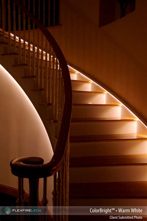 led strip lights for stairs 4 indirect lighting ideas using led strip lights