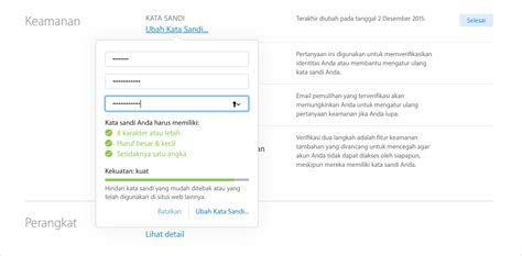 cara membuat apple id password keamanan dan id apple anda apple support