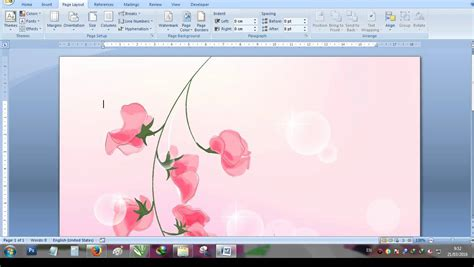 cara membuat powerpoint di word cara membuat background di microsoft word