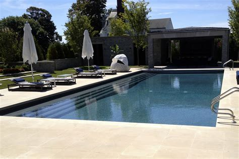 outdoor lap pool outdoor lap pool long branch residential pool design by