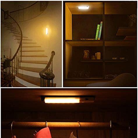 motion sensor cabinet lighting usb rechargeable cabinet lighting light and motion