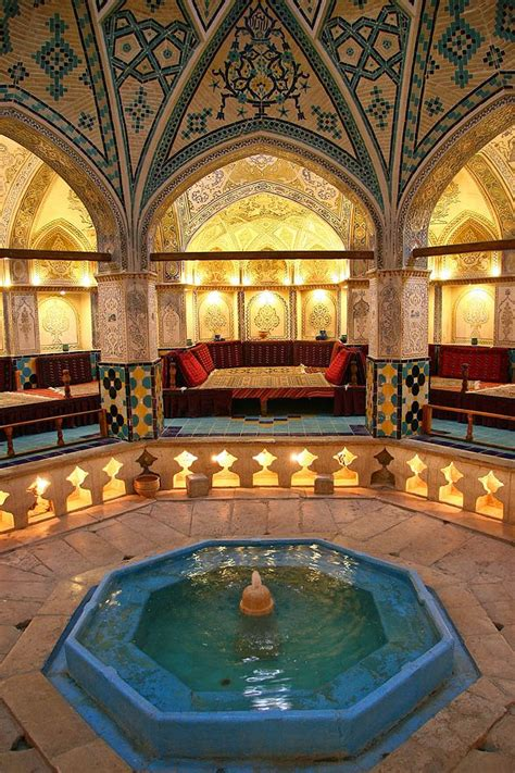 turkish bath house soltan amir ahmad bath house kashan la perse hier l iran aujourd h