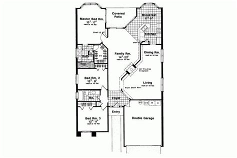 long ranch house plans long narrow ranch homepw13126 main level floor plans pinterest house plans home and