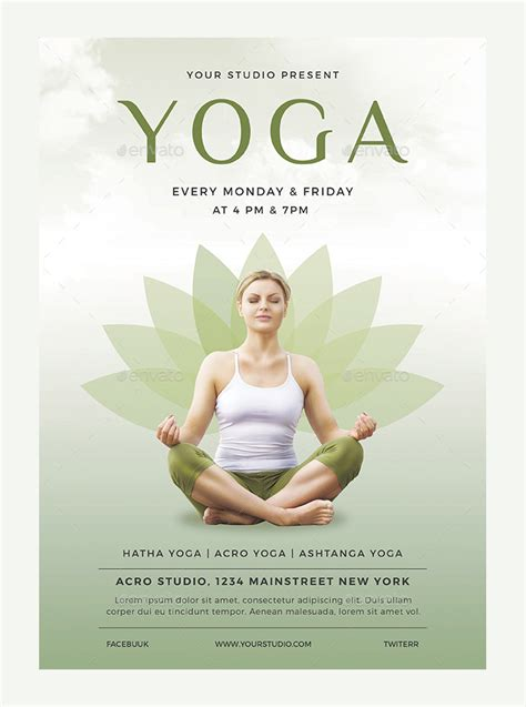 templates for yoga flyers yoga poster template www imgkid com the image kid has it