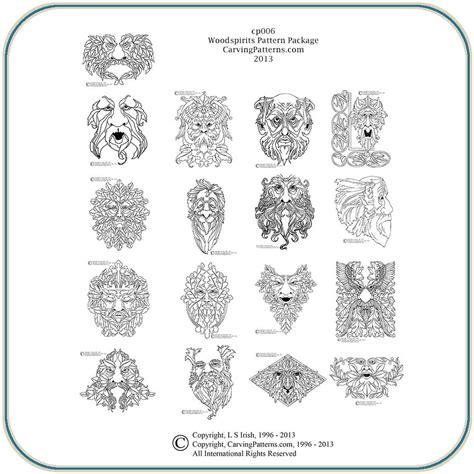 free carving patterns wood burning patterns free wood spirit pattern package