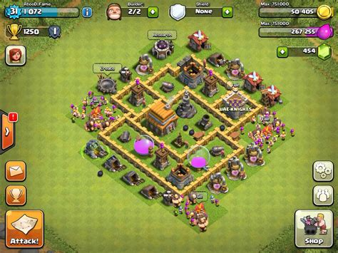 clash of clans layout strategy level 5 clash of clans best defense strategy town hall level 5