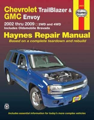 hayes car manuals 2003 oldsmobile bravada spare parts catalogs all gmc envoy parts price compare