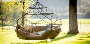Kodama zomes swinging pod to curl up in your own little world