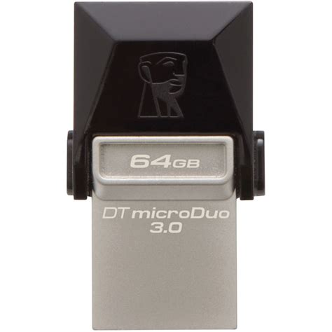 Usb Otg Kingston Dt Microduo 3 0 kingston 64 datatraveler microduo usb 3 0 flash drive
