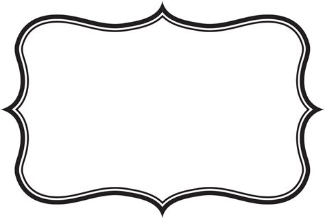 Clementine Labelss Solo Para Educadoras Pinterest Template Clip Art And Scrapbooking Label Border Templates