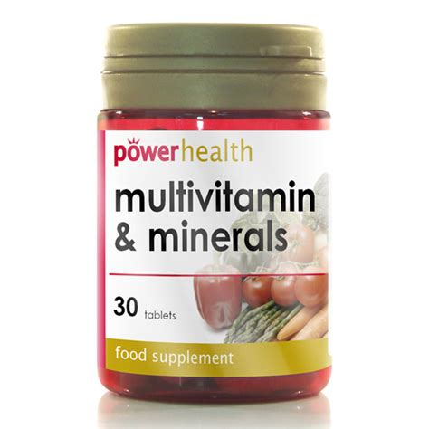 power health multivitamin mineral 30 tablets ebay