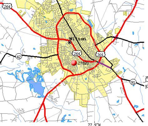 wilson carolina map 27893 zip code wilson carolina profile homes
