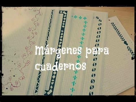 margenes para cuadernos m 193 rgenes para cuadernos y bordes para cartas ideas para