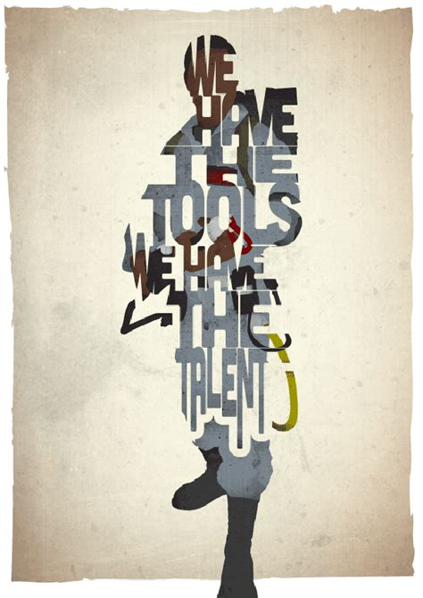 typographic star wars prints featuring iconic characters typographic movie posters from 17th and oak trendland
