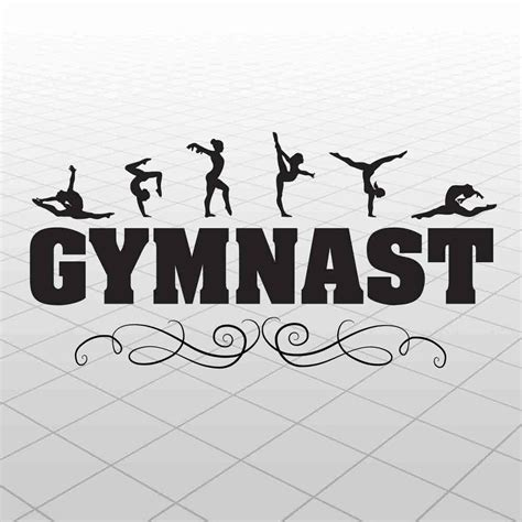 decals for room gymnast wall decal vinyl gymnast sticker gymnast room decor gymnastics ebay