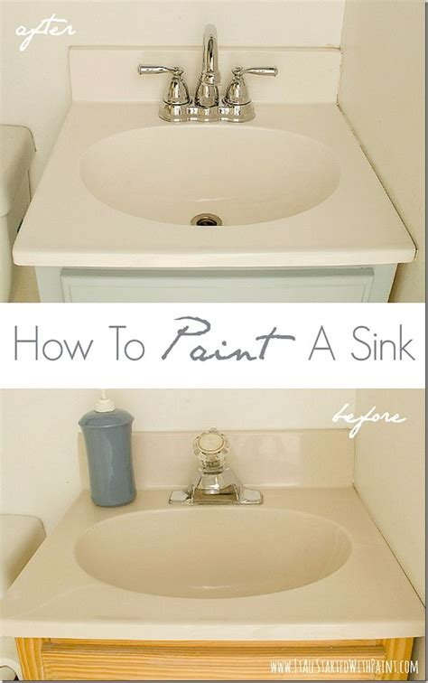 how to paint a sink a giveaway it all started with