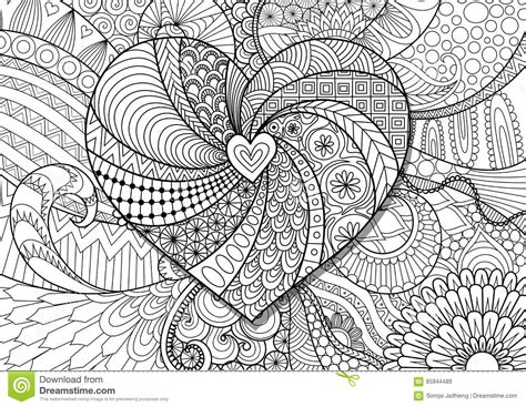 zendoodle coloring pages for adults zendoodle coloring page printable pdf zentangle inspired