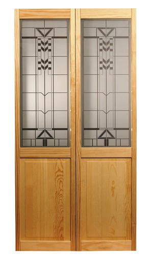 Bifold Closet Doors Menards Artist Pine Bifold 1 2 Panel Door At Menards 174