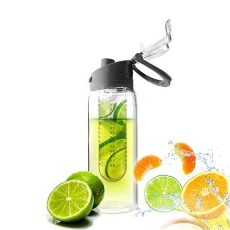New Generasi 2 Tritan Bottle Bpa Free With Fruit Infused Bottle tritan bpa free healthy sport cycling fruit juice infuser