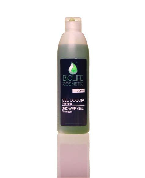 gel doccia gel doccia shoo uomo 250 ml biolife cosmetic