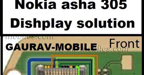 Lcd Hp Nokia Asha 306 gaurav mobile nokia asha 305 lcd ways solution