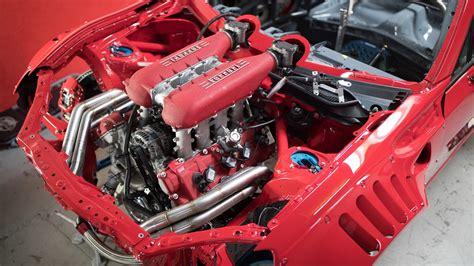Motor Ferrari by Toyota Gt86 With Ferrari 458 V8 Engine Youtube