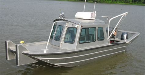 used scully aluminum boats for sale 22 work boats scully s aluminum boats inc