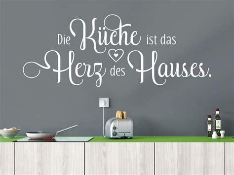 die küche ist das herz des hauses wandtattoo spruch die k 252 che ist das herz klebeheld 174 de