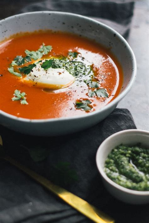easy garlic soup recipe easy roasted tomato and garlic soup my larder