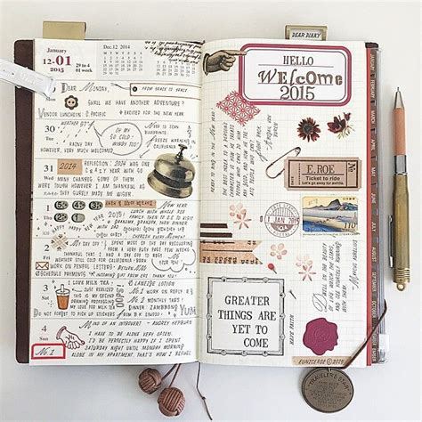 instagram post by rc ritacyc journal journaling and instagram post by thedailyroe journal filofax