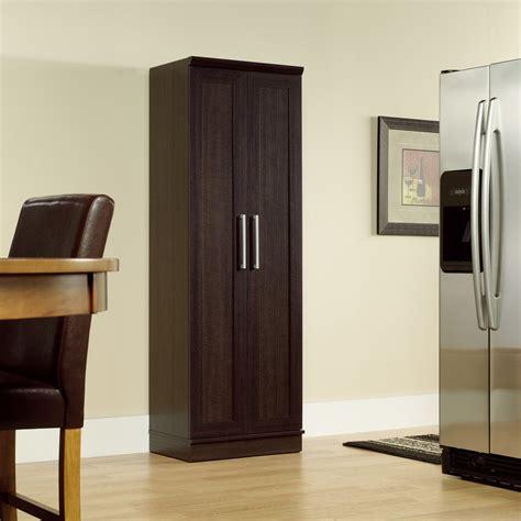 sauder kitchen furniture sauder homeplus four shelf storage cabinet pantry cabinets at hayneedle
