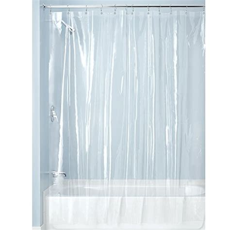 shower curtain malaysia interdesign x long shower curtain liner clear 11street