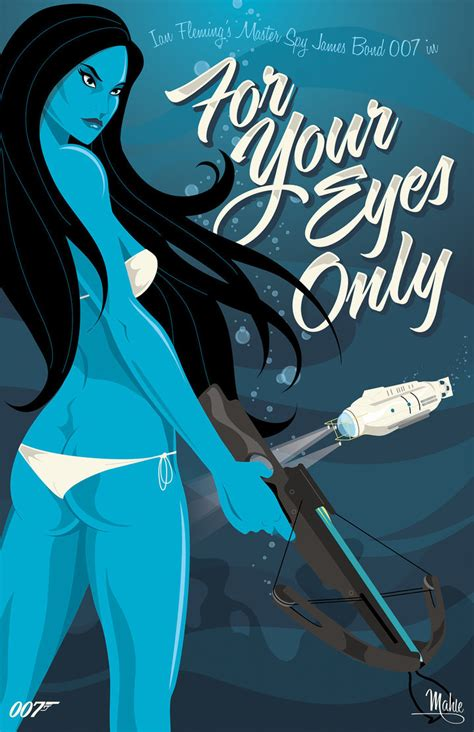film james bond for your eyes only for your eyes only by mike mahle