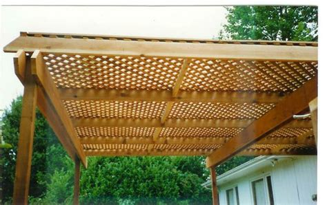 lattice patio roof search deck