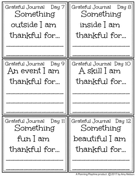 I Am Thankful For Template Pre K Card Free by Gratitude Planning Playtime