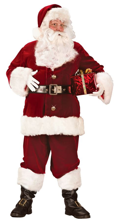 xxxl super deluxe santa claus suit candy apple costumes