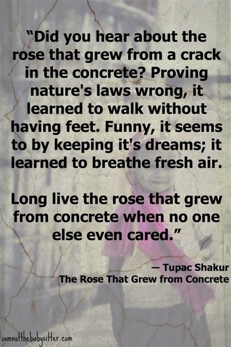 tupac the rose that grew from concrete tattoo