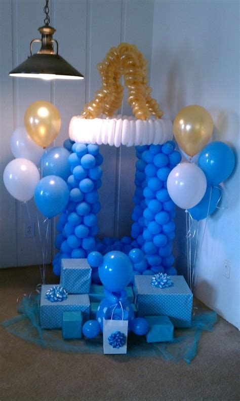 Decorating For A Baby Shower by Decorating With Balloons When Planning A Baby Shower