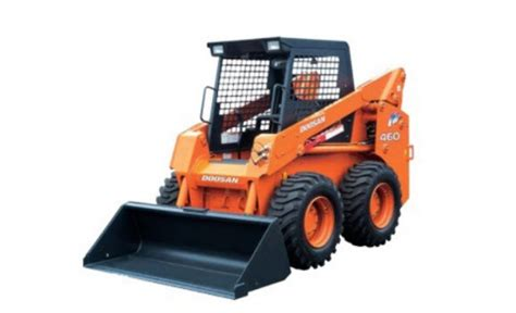 doosan   skid steer loader  rated operating capacity  lb