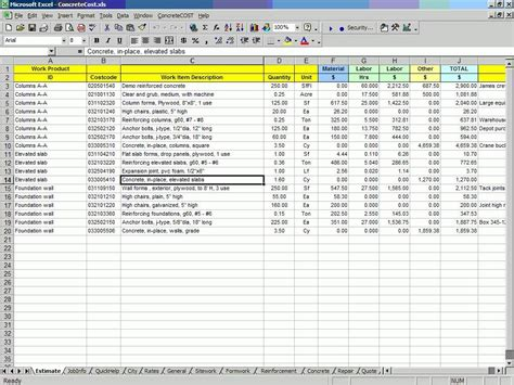 construction budget excel template residential construction budget template excel and
