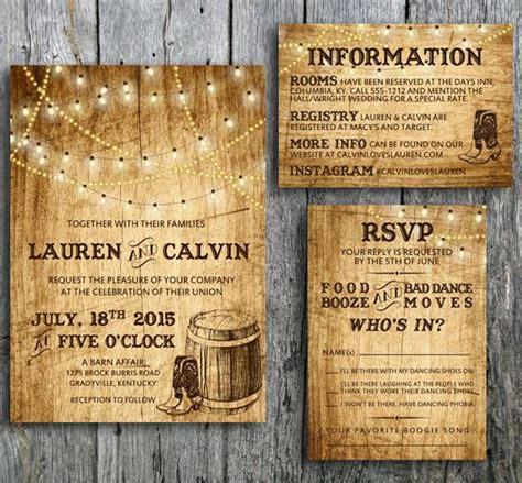 best 25 western wedding invitations ideas on wedding invitations country