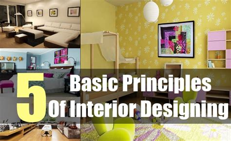 interior design principles 5 basic principles of interior designing most important