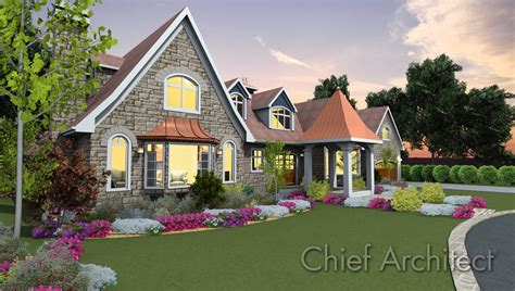 Modern 3d Home Design Software by Chief Architect Home Design Software Samples Gallery
