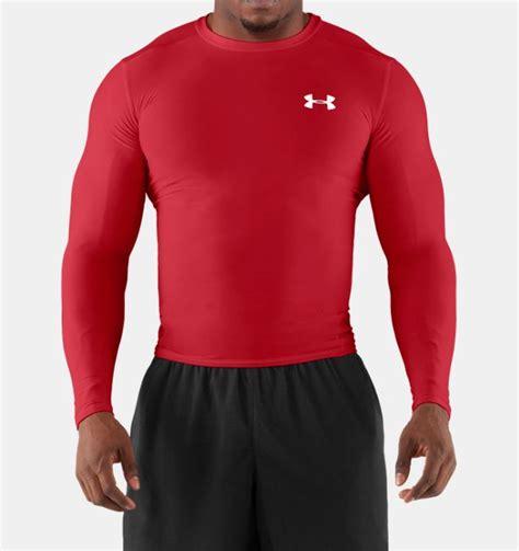Mens Logo Sleeve Compression men s heatgear 174 compression sleeve t shirt