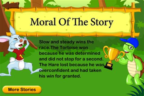 themes of the short story the open window the hare the tortoise stories for children for ios